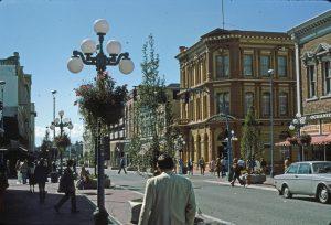 Victoria B.C., Government Street