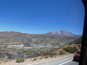 Arica--Grenze Chile-Bolivien