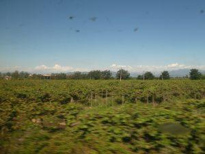 Chillan--Santiago