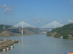 23. Januar, Panama-Kanal